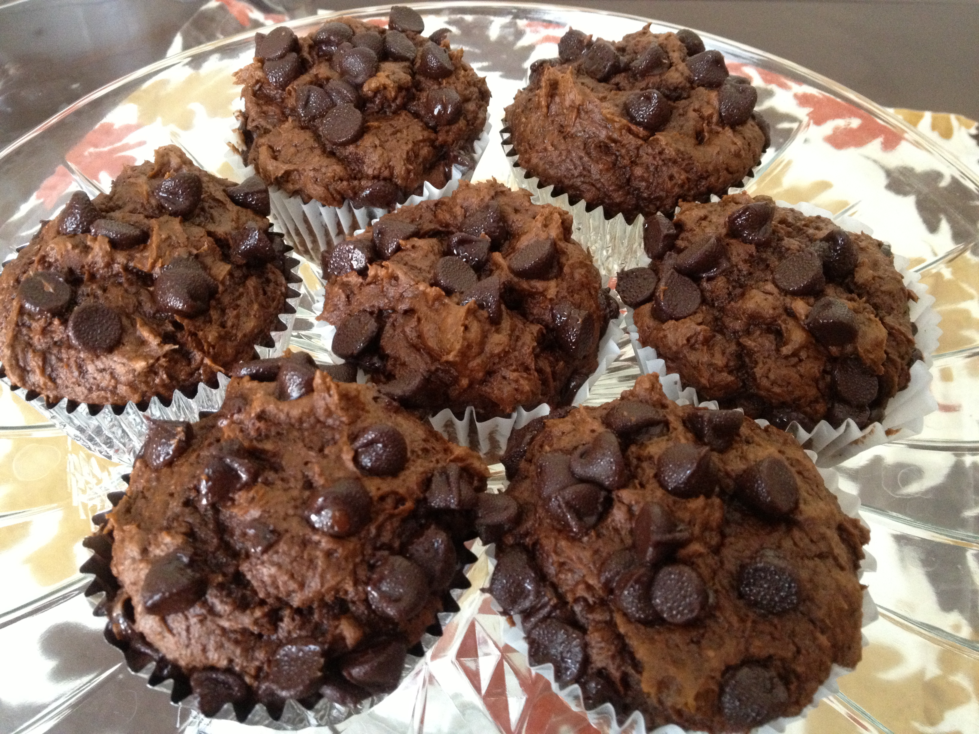 Pumpkin Chocolate Muffins – A Cake Mix Recipe | Chocolate, Cheese ...